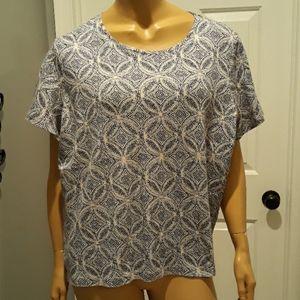Croft & Barrow women's plus size 2x blouse top